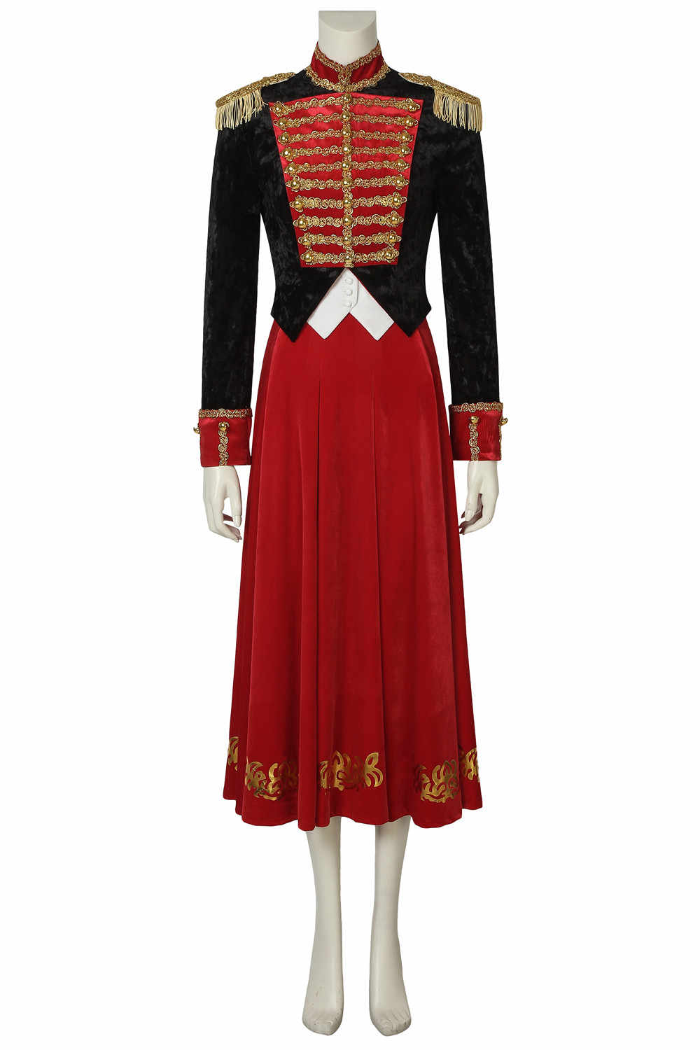e7c845a9e72e0 Stage Clothes The Nutcracker and the Four Realms Cosplay Clara Costume  Uniform Dress Halloween Carnival Customize Free Shipping
