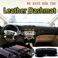 For Ford S-max 2006 2007 2009 2010 2011 2012 2013 2014 2015 Leather Dashmat Dashboard Cover Dash Mat Carpet Custom Car Styling