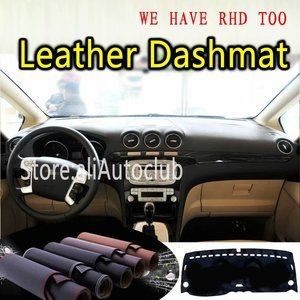 For Ford S max 2006 2007 2009 2010 2011 2012 2013 2014 2015 Leather Dashmat Dashboard Cover Dash Mat Carpet Custom Car Styling|  -