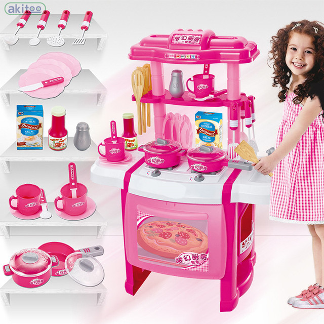 Exceptionnel New Arrival Childrenu0027s Kitchen Toy Kids Multifunctional Kitchen Toys Good  Quality Plastic Food Toy Kitchen For