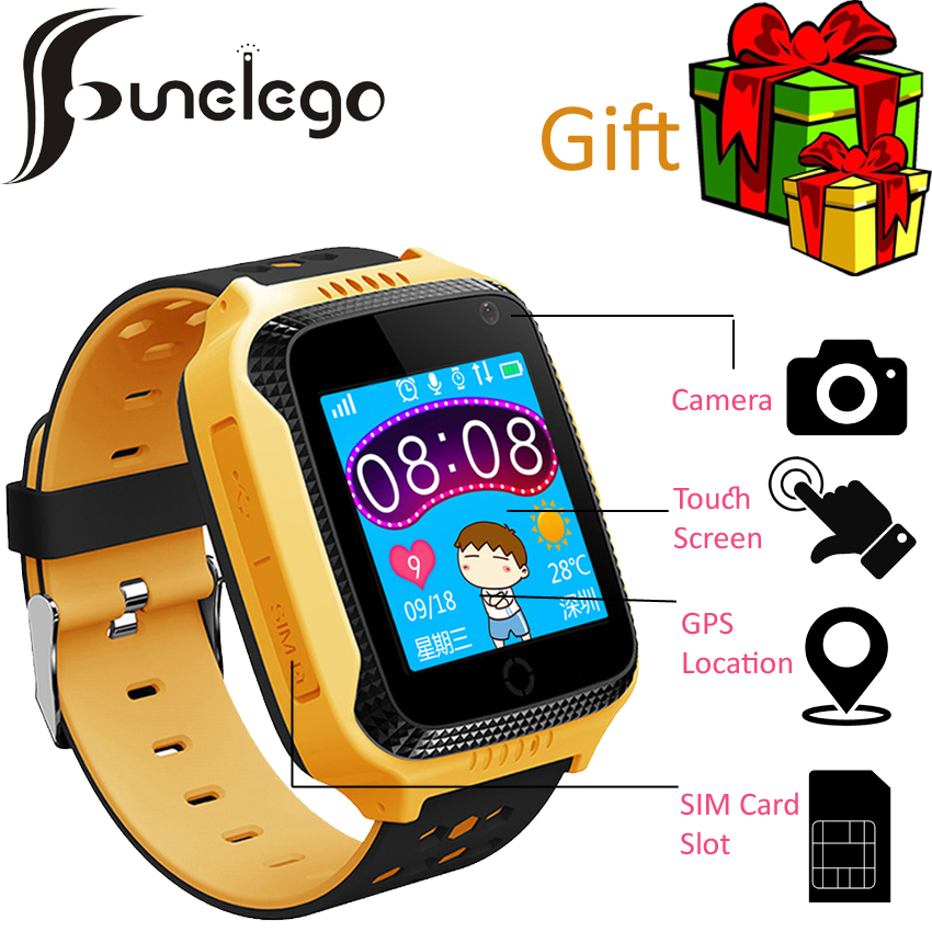 Funelego Original Q42 Child <font><b>Smart</b></font> <font><b>Watch</b></font> Baby Phone Clocks <font><b>Kids</b></font> Gift Wristwatch GPS Tracker Touch Screen For Children PK <font><b>Q528</b></font> Q02 image