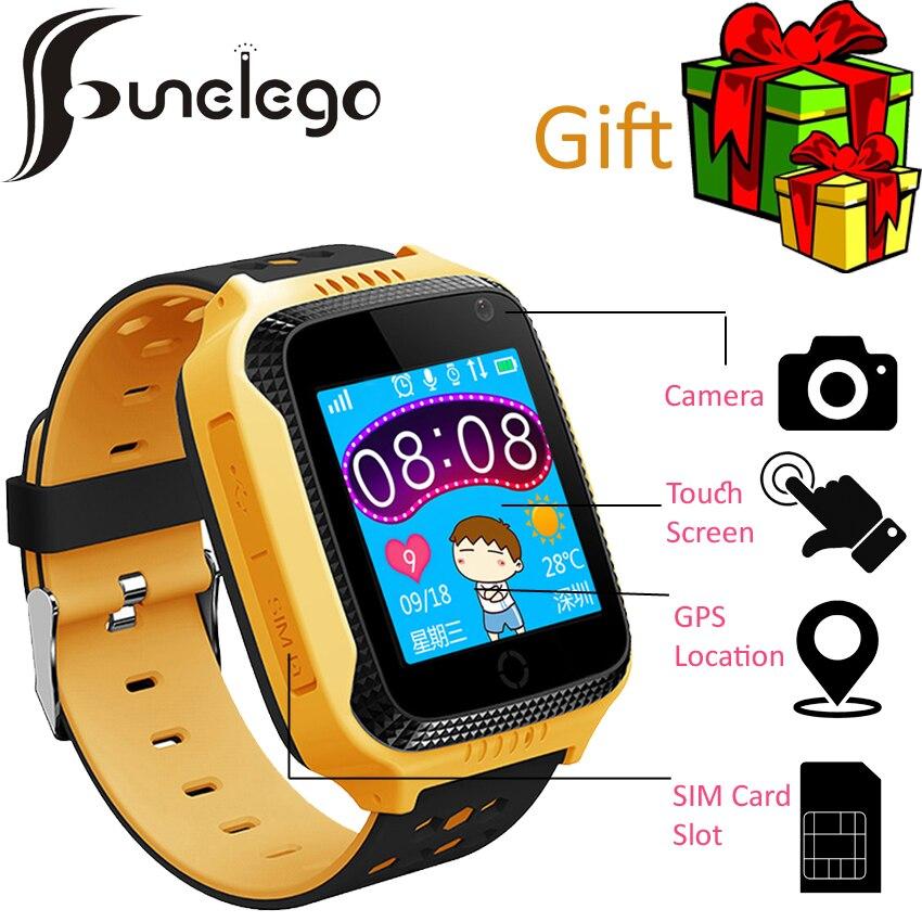 4b267a2f033 Q42 Funelego Original Relógio Inteligente Telefone Bebê Criança Relógios  Crianças Tela Sensível Ao Toque Para Crianças presente Relógio de Pulso GPS  Tracker ...