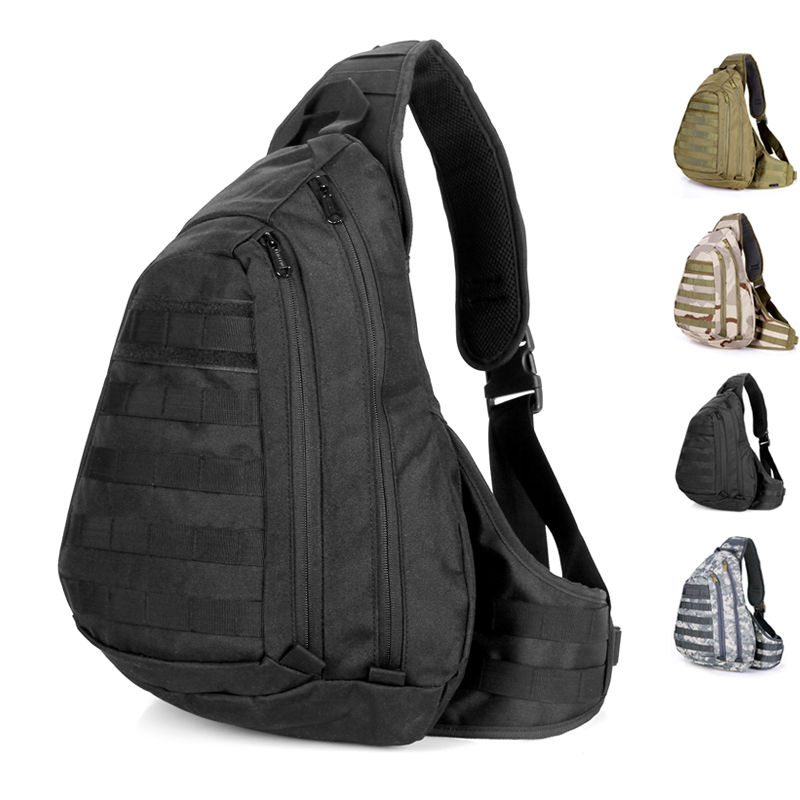 Outside Sport Chest Pack Travel Bag For Ipad 2 3 A4 Book Messenger Tactical Camping Shoulder In Crossbody Bags From Luggage