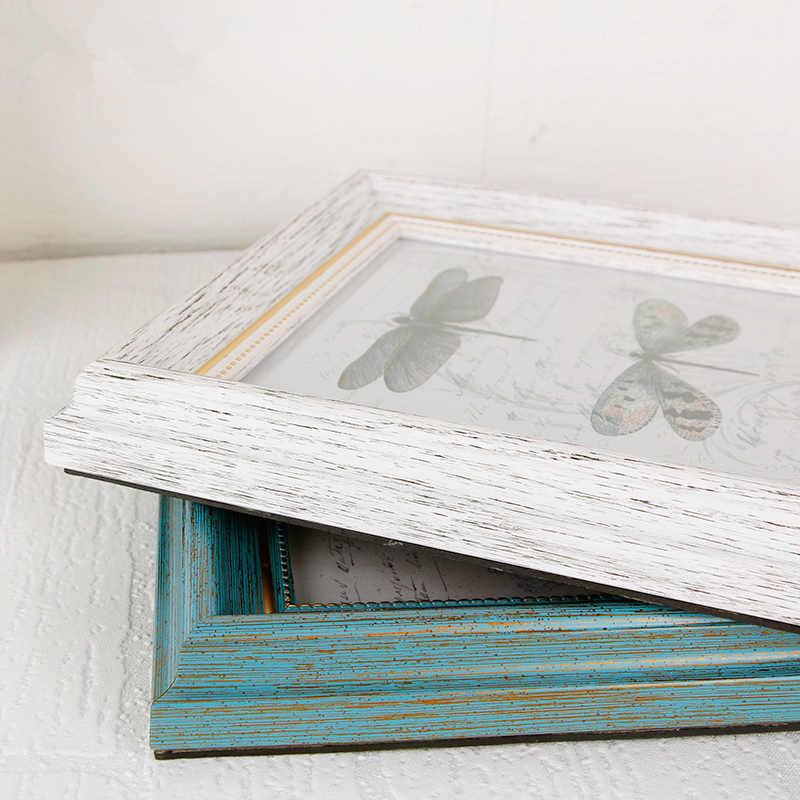 Винтажные зеленые дизайнерские фоторамки для рабочего стола свадебные декорации фоторамки 6-10 дюймов детские подарки на день рождения фоторамки moldura