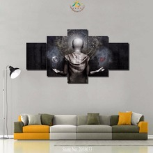 3-4-5 Pieces Spiritual Religious God Modern Home Decor Wall Art Canvas HD Painting  For Living Room Print Modern Painting все цены