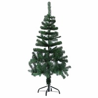 Green Artificial Christmas Tree Indoor Plastic Fake Plant Trees For Christmas New Year Ornaments Decoration Celebrate