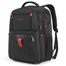 SAMI Laptop Bag 17.3 Inch Notebook Backpack School Bag with USB Port Waterproof Nylon Men Business Travel Backpacks Laptop Bags brand shockproof laptop backpack nylon waterproof men women computer notebook bag 15 6 inch school bags backpack ks3027w