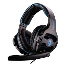 810 SA-810 SADES sa810 3.5mm Wired Gaming Headset jogo fones de ouvido Estéreo com Microfone para PC/Laptop/ps4/Mobile phone/ipad, sa-903