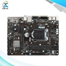 MSI H81M PRO-VD Оригинальный Б H81 Настольных Материнских Плат Socket LGA 1150 DDR3 i3 i5 i7 16 Г SATA3 USB3.0 Мини-ITX