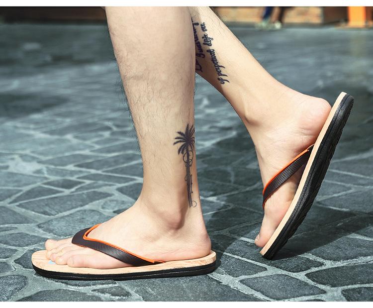 2018 новые летние вьетнамки для мужчин модные высокое качество пляжные сандалии обувь нескользящие удобные мужские тапочки для мужчин повседневная обувь