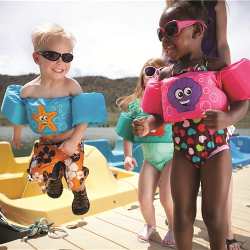 Age 2 6 Foam Cartoon font b Baby b font Arm Ring buoyancy vest font b