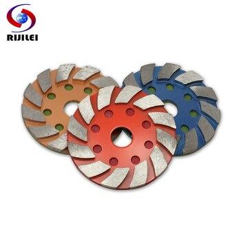 RIJILEI 3PCS  4Inch Metal Diamond Polishing Pad 100mm Wet or Dry Concrete Floor Marble Granite Grinding Disc 4JKP - discount item  50% OFF Power Tools