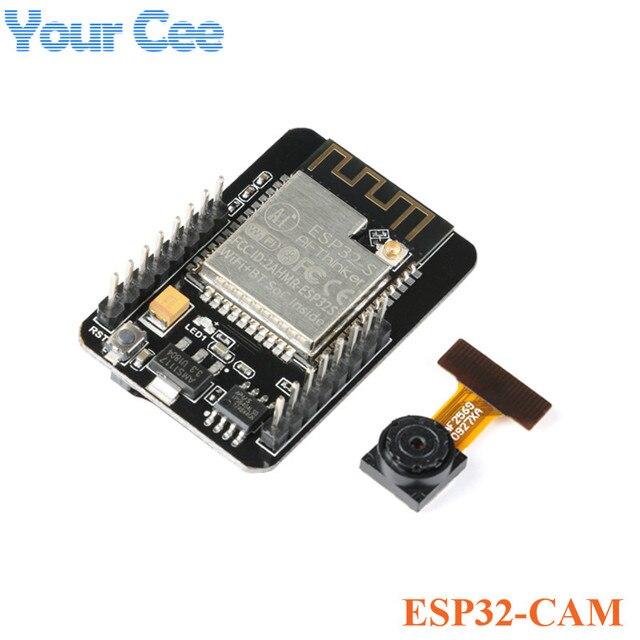 ESP32-CAM WiFi moduł WiFi ESP32 szeregowy do WiFi ESP32 CAM rozwój pokładzie 5 V Bluetooth z OV2640 moduł kamery dla arduino