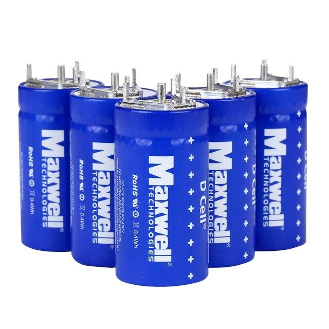 US $17 9  Maxwell D Cell Power 350F 350 F Farad 2 7V Super Capacitor Cap  Ultra Battery في Maxwell D Cell Power 350F 350 F Farad 2 7V Super Capacitor