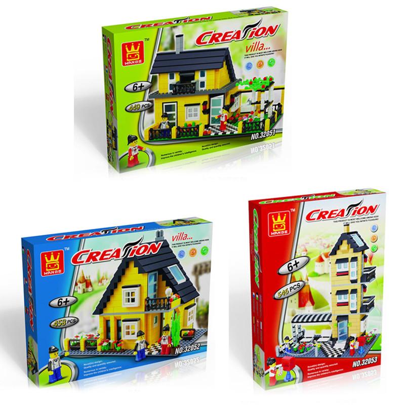 villa building blocks