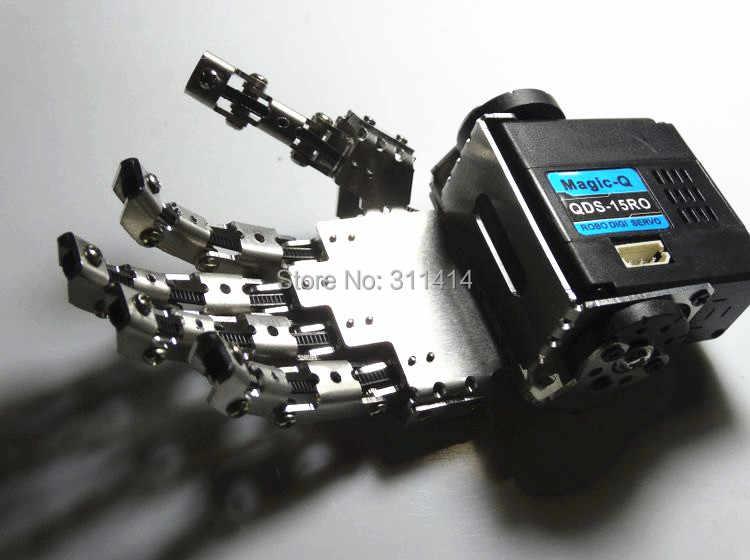 Humanoid Finger манипулятор пять пальцев антропоморфный левый/правый ручной набор с сервоприводом для двуногий робот DIY Un-assembly