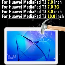 Premium Quality Tempered Glass For Huawei Mediapad T3 7.0 8.0 10.0 Tablet Screen Protector