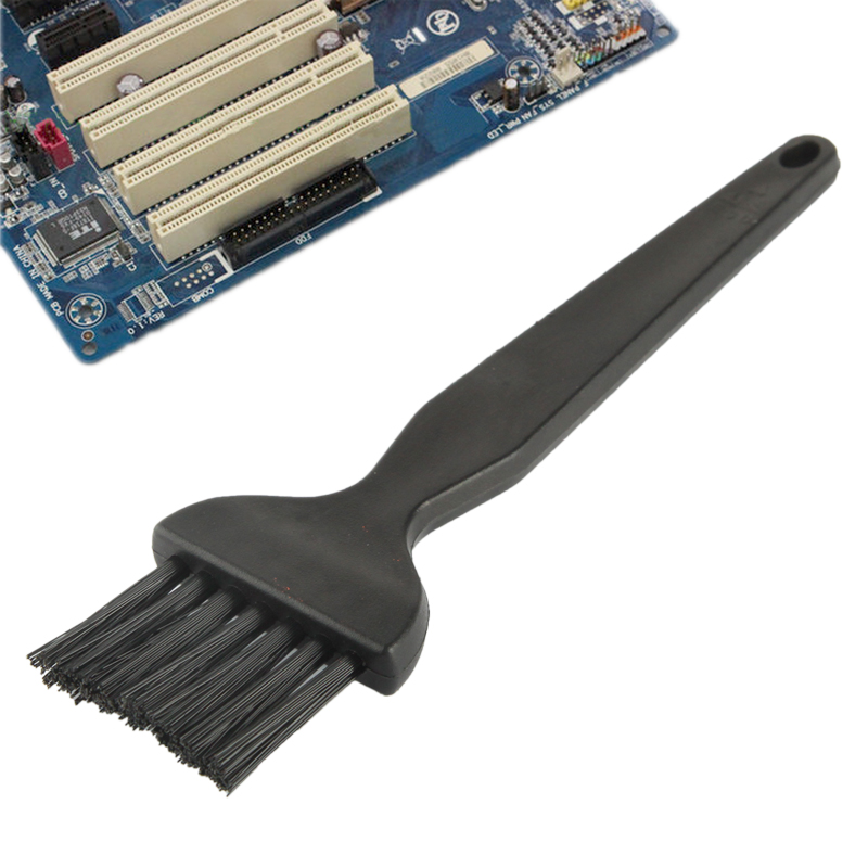 Electronic Component 7 Beam Flat Handle Antistatic Cleaning Brush, Length: 14cm