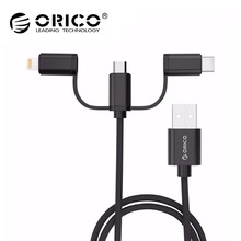 ORICO 3 in 1 USB Cable for Mobile Phone 2.4A Fast Charging U