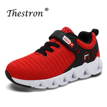 Thestron Children Boy Shoes Summer Kids Sport Boys Comfortable Blue Red Kid Sneakers Running