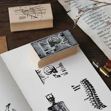 Горячая букв влюбленных деревянный штамп серии бревна резиновый Альбом украшение дневника для ручная работа Скрапбукинг декорирование