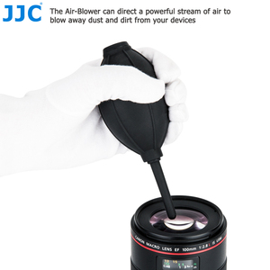 Image 2 - JJC מצלמה עדשת ניקוי עט אוויר אבק מפוח סיבי בד 3 in 1 ערכת ניקוי עבור ניקון Sony אולימפוס Canon DSLR חיישן LCD נקי