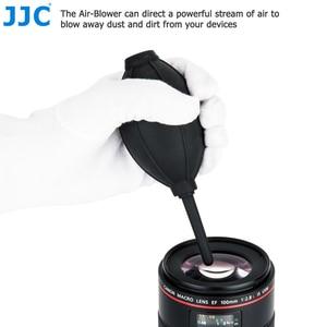 Image 2 - Jjc 카메라 렌즈 청소 펜 공기 먼지 송풍기 섬유 헝겊 니콘 소니 올림푸스 캐논 dslr 센서 lcd 청소를위한 3 in 1 청소 키트