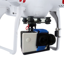 2 Axis Gimbal Stabilizer 2 6S Drone Aerial Photography Gimbal w/ 2204 Motors 5 28V Plug and Play PTZ for GoPro DJI Phantom 2