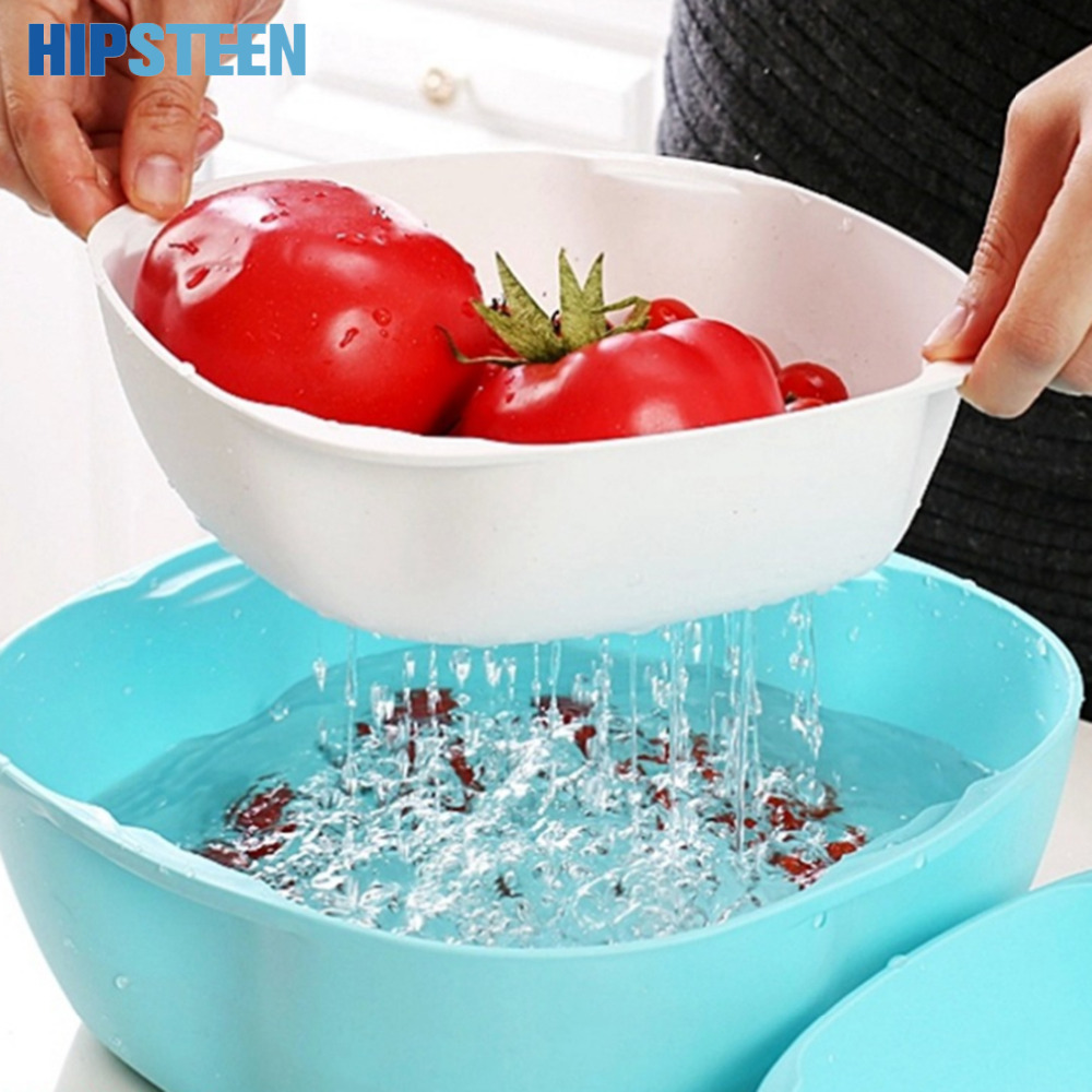 HIPSTEEN 3Pcs Multifunctional Draining Plate Set Foldable Colander ...