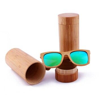 BerWer 2019 Nieuwe Mannen Vrouwen Handgemaakte Bamboe Zonnebril Eyewear Brillen Hout zonnebril