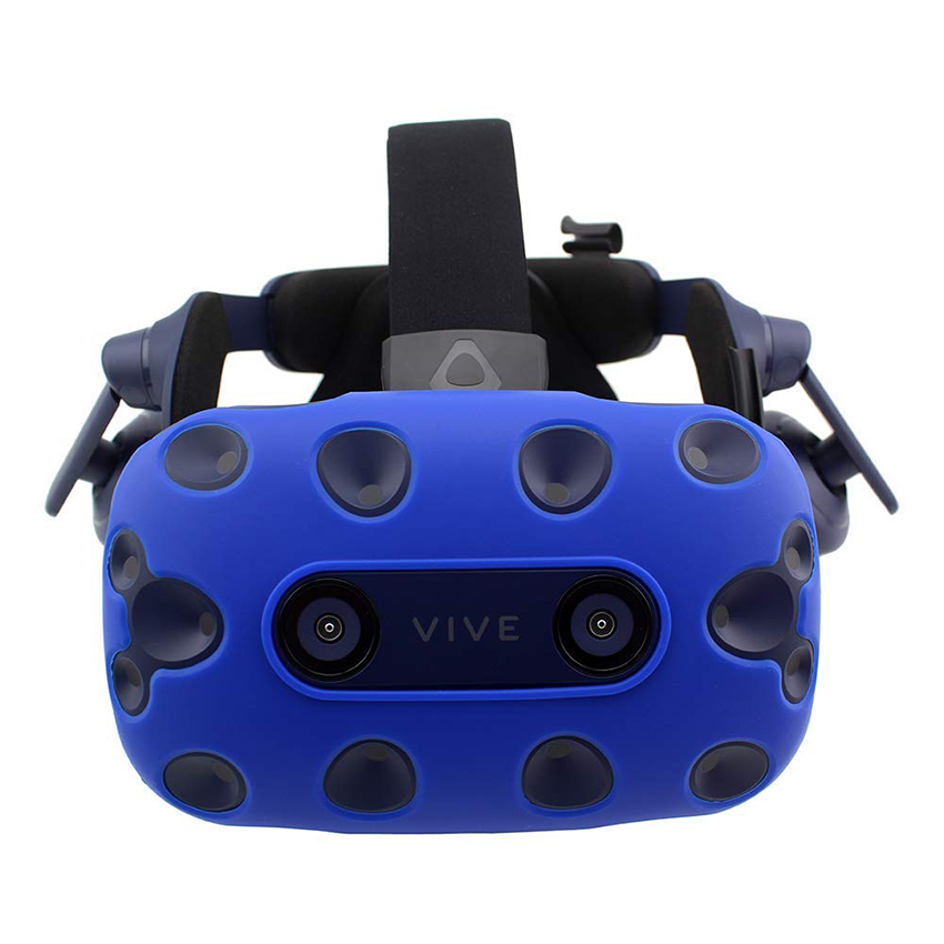 For HTC VIVE PRO VR Virtual Reality Headset Silicone Rubber VR Glasses Helmet Controller Handle Case 0036