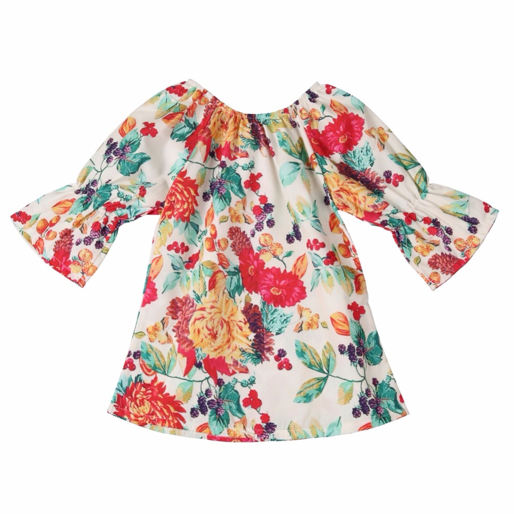 f584615e9f2 WEIXINBUY Girls Dress New Summer Style Girls Clothes Sleeveless Sunflower  Print Design Dresses Children Clothes 1 6Y-in Dresses from Mother   Kids on  ...