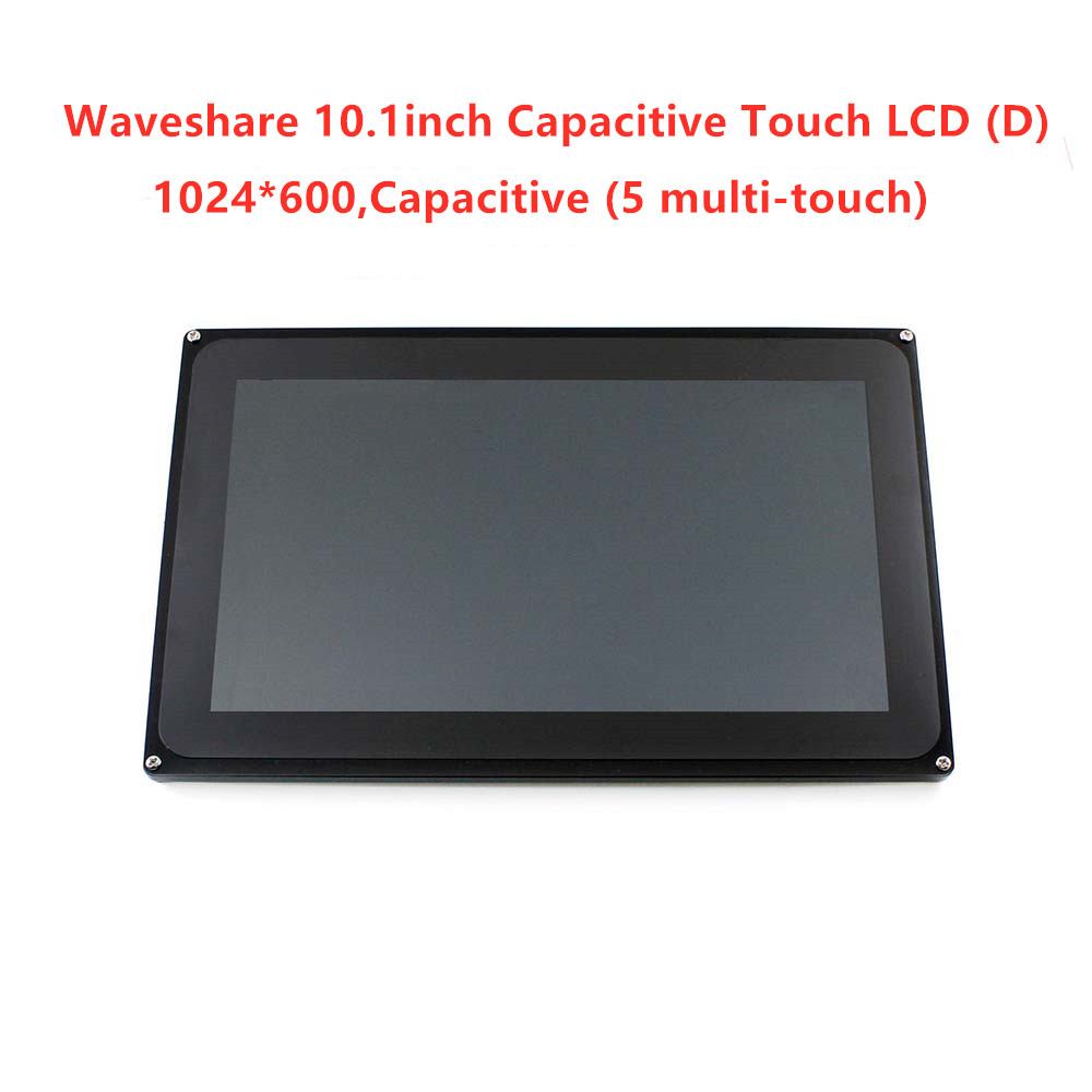 10.1inch Capacitive LCD Display Touch Screen Monitor,TFT Multicolor Graphic  Multi-touch Screen Stand-alone Touch Controller