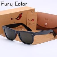 Real Glass Lens Retro Square 2140 Luxury Classic Sunglasses Women Men UV400 Rays Sun Glasses Eyewear