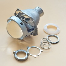 Car Styling New Top Quality 3.0 HID Bi xenon Projector Lens Headlight Retrofit Lenses H4 Super Bright, Use D2S D2H D4S Bulbs ronan bi xenon hid projector lens koito d2s replacement for bmw e46 e70 for audi a3 a4 car headlight diy retrofit car styling