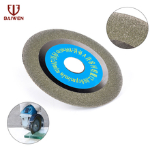 цена на Free shipping 100mm diamond saw blade 4 inch for cutting porcelain and ceramic tile cutting blade