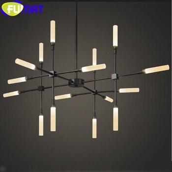 FUMAT kreatywny projekt nowoczesne lampy wiszące dla jadalnia pokój dzienny sypialnia Metal oddział oprawy oświetleniowe sztuki lampora LED