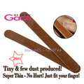 Beauty GaGa 10pcs/lot Good Quality Wooden Double Sided Coarseness Grit 100/120 Nail Beauty Tools 17.7cm *1.8cm*0.2cm Nail Files