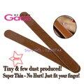 Beleza gaga 10 pçs/lote boa qualidade de madeira dupla face grosseria grit 100/120 ferramentas de beleza do prego 17.7 cm * 1.8 cm * 0.2 cm lixas de unha