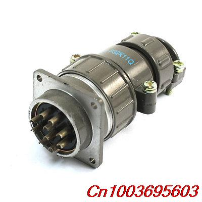 Waterproof Aviation Plug Metal Connector Adapter 10 Pin P32-10 Core waterproof aviation plug pannel connector adapter 2 pin p20 2 core