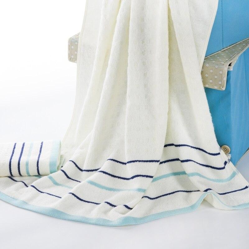 Travel Towel Bamboo: Striped Bamboo Fiber Round Beach Towel Microfiber Multi