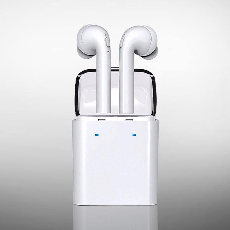 New Twins TWS True Wireless Bluetooth Headset Mini Bluetooth 4.2 Wireless Earpiece Earbuds In-Ear Earphone For Iphone 7 Android remax 2 in1 mini bluetooth 4 0 headphones usb car charger dock wireless car headset bluetooth earphone for iphone 7 6s android