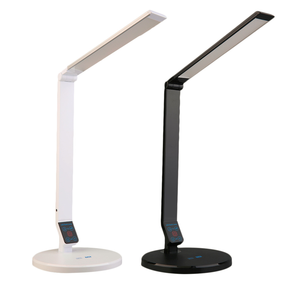 1pcs Modern Desk Lamp Table Light Adjustable Dimmable LED Reading Touch Control brighting led table reading lamp office light adjustable lamp usb rechargeable touch sensor led desk light table lamp for home