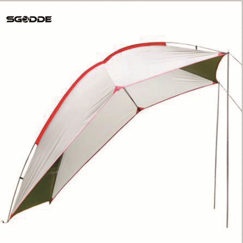 SGODDE Outdoor Car Tail Account 5-8 People Use Waterproof Sunshade Tent Barbecue Camping Wild Outdoor Travel  Self-Driving TentSGODDE Outdoor Car Tail Account 5-8 People Use Waterproof Sunshade Tent Barbecue Camping Wild Outdoor Travel  Self-Driving Tent