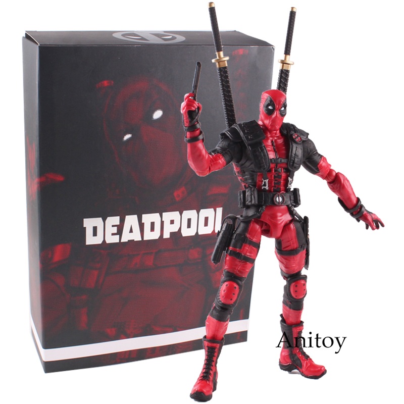 Marvel Univers Super Heros Deadpool Action Figure Collectible Ver.Toy Gift 26cm