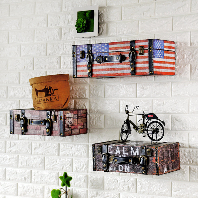 Retro Shabby Chic Home Decor Ktv Bar Cafe Wall Decoration Plate Pu ...