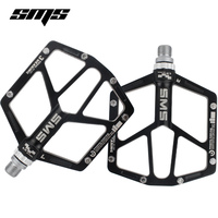 SMS Super Wide Ultralight Road Bike Pedals Mountain Bike Pedals Aluminum Alloy Cycling Pedals Bicycle Pedals