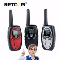 2pcs New Black Retevis RT628 Portable Radio Walkie Talkie Sets 0 5W 8CH UHF Europe Frequency