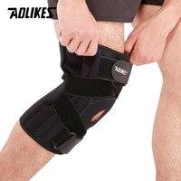 AOLIKES 1PCS Professional Knee Pad Meniscus Injury Protetor De Joelho Support Sports Safety Kneepad Rodilleras Tactical