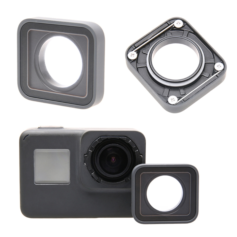 Image 2 - OOTDTY UV Lens Ring Replacement Protective  Repair Case Frame for Gopro Hero 5/6-in Sports Camcorder Cases from Consumer Electronics